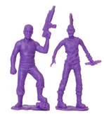 Abraham pvc figure 2-pack (purple) 2