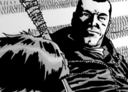 Issue 105 Negan Questioning