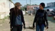 Sasha Williams Questions Rosita Espinosa's Logic 7x14 The Other Side