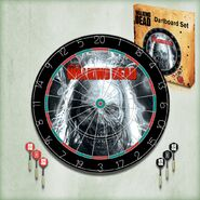 The Walking Dead Dartboard Set