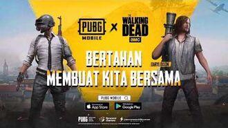 PUBG MOBILE X The Walking Dead