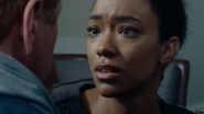 Sasha Williams 7x16 Speaking to Abraham in Flashback The FIrst Day of the Rest of Your Life 7x16