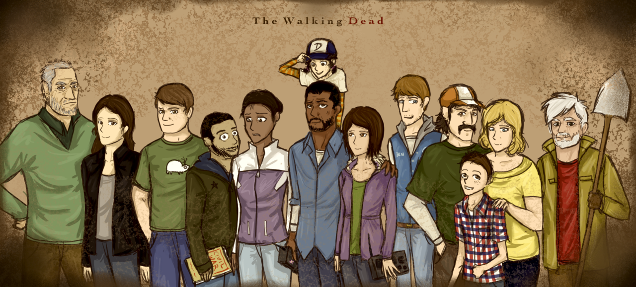 The Walking Dead Characters That Start With The Letter N
