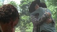 Carl and Maggie say Goodbye