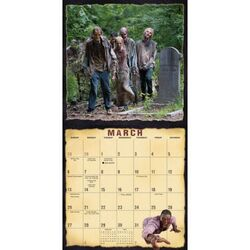 Walkers of AMC's The Walking Dead Wall Calendar 3