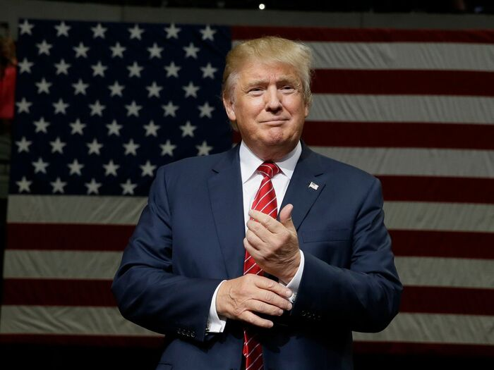Donald Trump is the 45th President of America