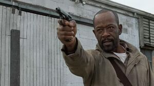 Morgan Killed Roman 6x16