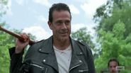 Negan leaves Alexandria S7E8
