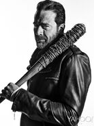 TWDNegan-Season7-Black and White