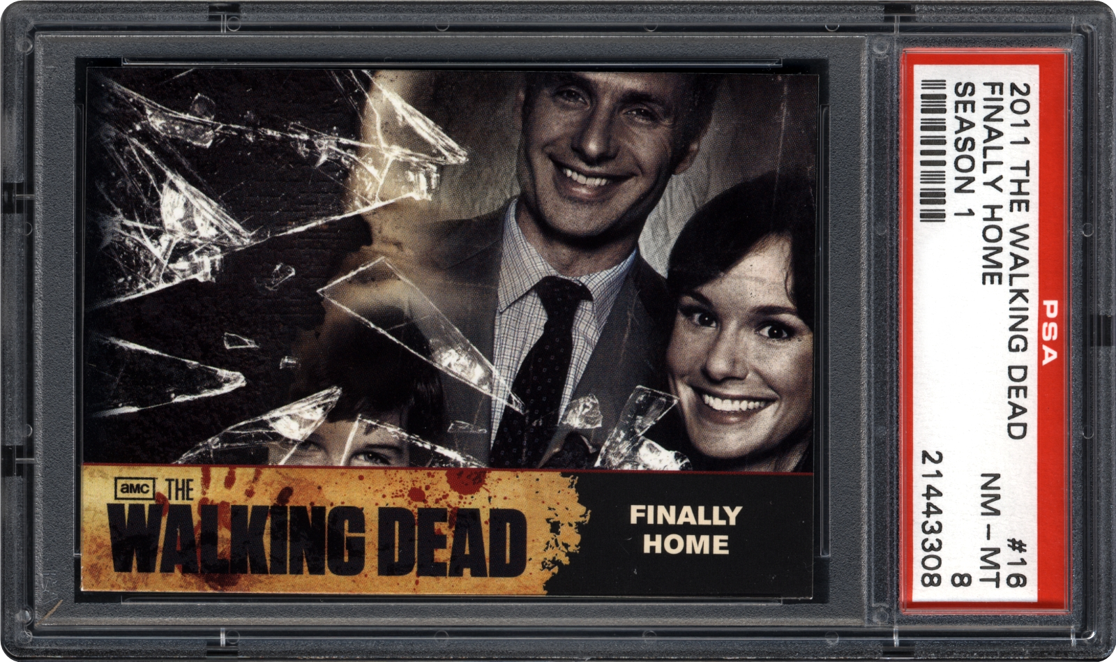 The Walking Dead Season 1 trading card Behind The Scenes Chase Card C01
