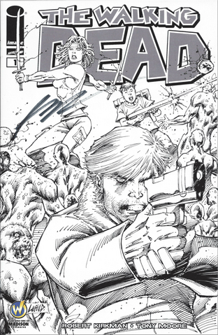 File:Issue 1 Madison Comic Con VIP Exclusive Variant Sketch Cover signed by Rob Liefeld.png