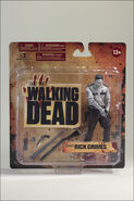 McFarlane Toys The Walking Dead TV Series 1 Bloody Black & White Rick Grimes 6