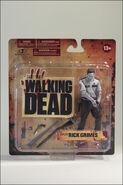 McFarlane Toys The Walking Dead TV Series 1 Bloody Black & White Rick Grimes 6