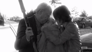 TDWCWYWB Hershel and Maggie hugging Beth