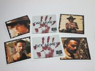Rick and Carl Grimes Character Cards 2
