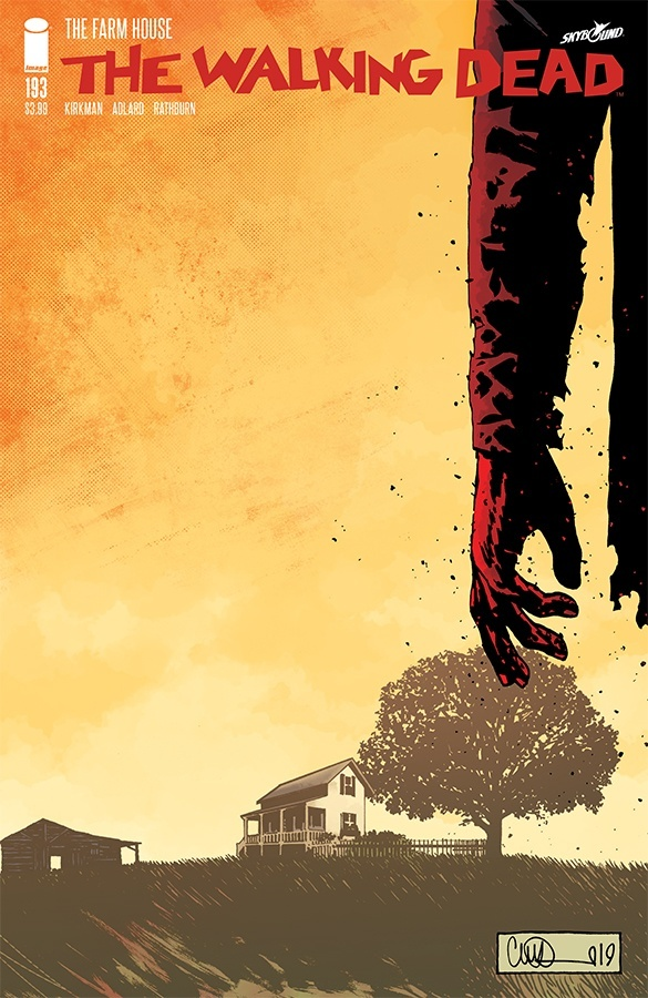 Image result for the walking dead issue 193