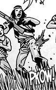Bandanna Lady Shot in Leg Issue 48