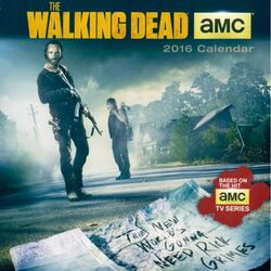 The Walking Dead 2016 Mini Wall Calendar