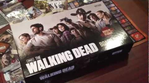 Walking Dead Board Game Unboxing! (TV SHOW)