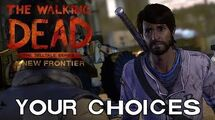 The Walking Dead A New Frontier - Your Choices