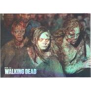 The Walking Dead - Sticker (Season 2) - S15 (Foil Version)