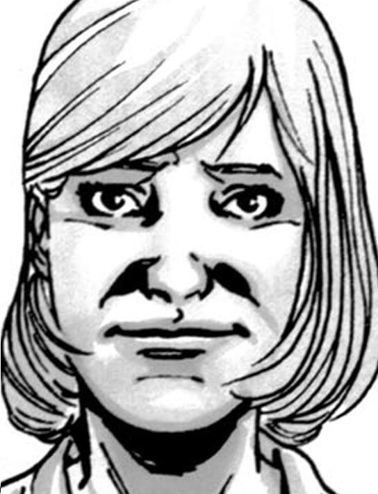 Image result for Carol walking dead comics