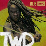 TWD Season 10 Michonne Promo