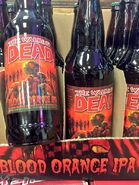 The Walking Dead- Blood Orange IPA blottles