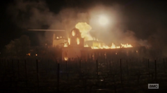 Sva the Abigail compound burning