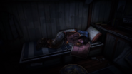 TWDM Michonne Sleeping