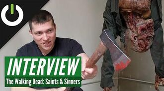 The Walking Dead Saints & Sinners - Behind The Scenes Interview (PC VR, PSVR, Quest)