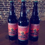 The Walking Dead- Blood Orange IPA bottles 2