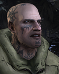 AmTR Tattooed Russian Man Angry