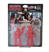 Abraham pvc figure 2-pack (translucent red)