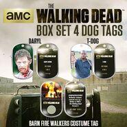 The Walking Dead - Dog Tag (Season 2) - Set 4