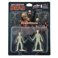 The whisperers pvc figure 2-pack (glow-in-the-dark)