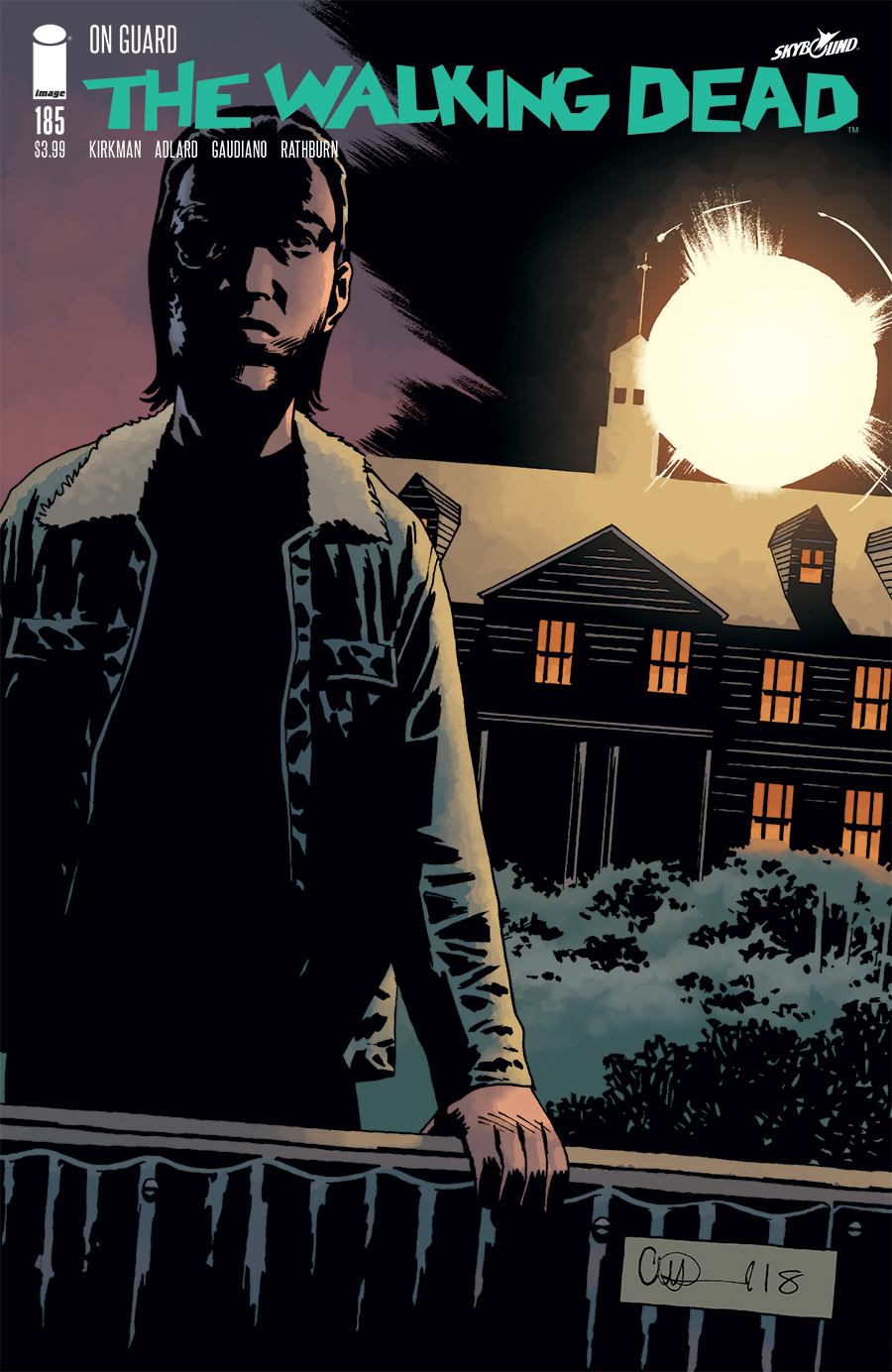 The Walking Dead Comic Issue 185
