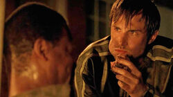 Gareth eating meat 5x02