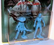 Carl pvc figure (blue)