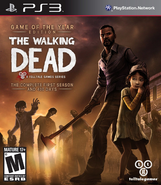 TWD GOTY PS3 Cover