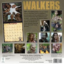 Walkers of AMC's The Walking Dead Wall Calendar 2