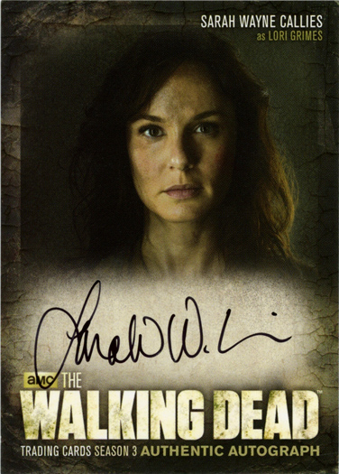 The Walking Dead Season 3 Part 1 The Grimes Family Chase Card GF-03