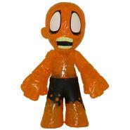 Orange Burned Zombie (Mistery Minis)