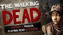 The Walking Dead The Game - Season 2 Episode 2 Trailer, Scott Porter Interview - Playing Dead ...