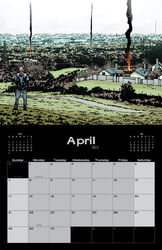 Image Comics April 2013 Calendar