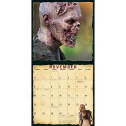 Walkers of AMC's The Walking Dead Wall Calendar 4