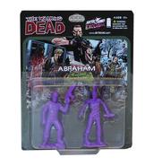 Abraham pvc figure 2-pack (purple)