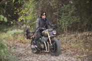 AMC 515 Daryl Riding Motorbike