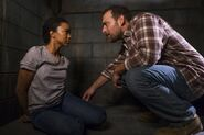 David Tries to Rape Sasha Williams 7x15 Something They Need