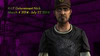RIP Determinant Nick